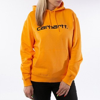 Carhartt WIP W' Hooded Sweatshirt I027476 POP ORANGE/BLACK