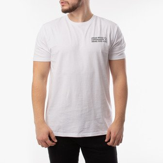 Wood Wood Info T-shirt 12015719-2334 BRIGHT WHITE