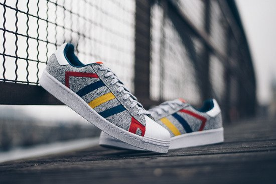 "adidas Superstar x White Mountaineering ""Grey Multi"" AQ0352"