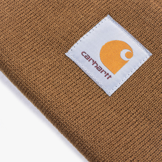 Carhartt Acrylic Watch Hat I020222 HAMILTON BROWN