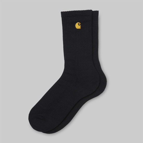 Carhartt Chase Socks I026527 BLACK/GOLD