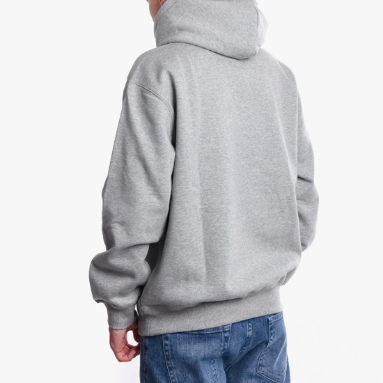 Carhartt WIP Hooded I027093 GREY HEATHER/BLACK