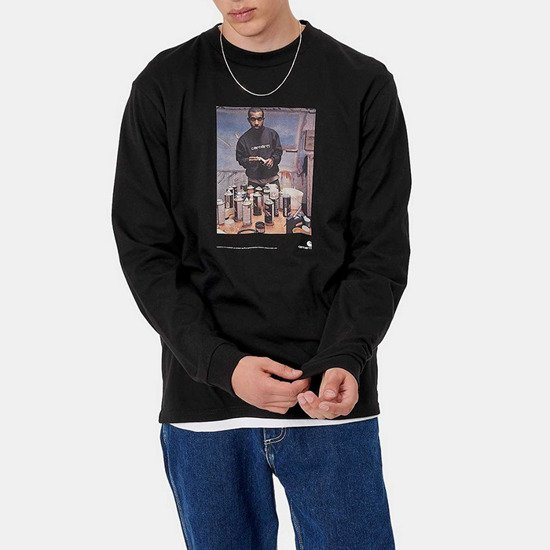 Carhartt WIP Longsleeve L/S 1998 And Jay One T-Shirt I028503 BLACK