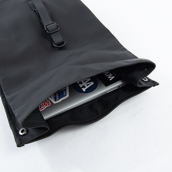 Rains Rolltop Mini 1361 BLACK