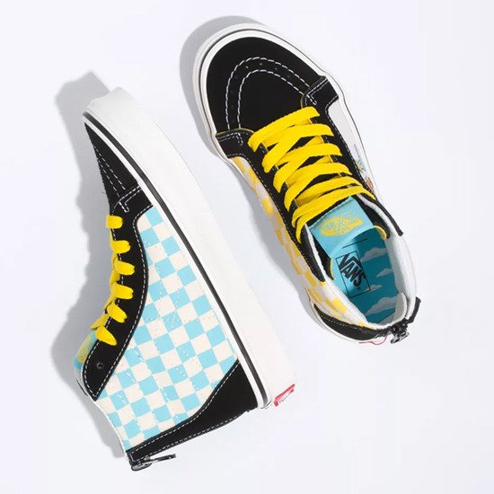 Vans x The Simpson Sk8-Hi Zip VN0A4BUX17E