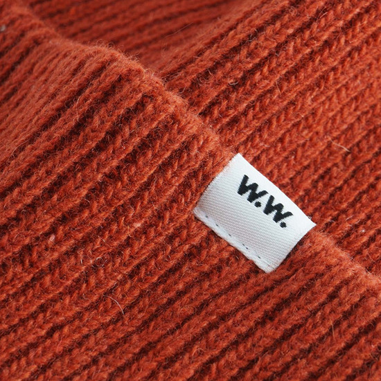 Wood Wood Mande Beanie 11930811-9969 Orange